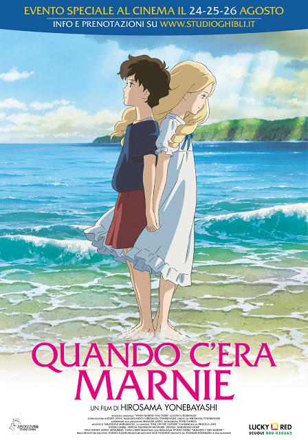 Non so se sarà l'ultimo film dello Studio Ghibli, ma so che è semplicemente delizioso, una fiaba surreale tra passato e presente, la storia di due ragazze intimamente legate, una storia di fantasmi, di solitudine, di crescita, di speranza. Spero davvero che non sia l'ultimo film dello studio Ghibli.